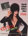 Elvira and the Party Monsters Pinball Flyer Poster