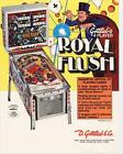 Royal Flush Gottlieb Pinball Flyer / Original Brochure