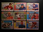 1955 TOPPS ALL AMERICAN (27) DIFFERENT LOW GRADE PARTIAL SET FILLER LOT POOR