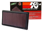 K&N 33-2395  Replacement Air Filter 2011-2018 Ford Explorer 3.5L