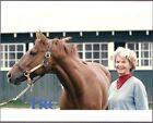 SECRETARIAT ORIGINAL 11X14 PHOTO WITH OWNER PENNY CHENERY