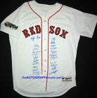2007 Boston Red Sox Team Signed World Series Jersey Autographed 23 MLB + PSA COA