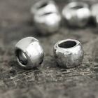 200pcs Spacer Beads Fashion Antique Silver Tube DIY Jeweley Making 5.5x5.5x4mm