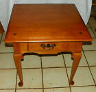 Mid Century Maple End Table / Side Table by Ethan Allen  (T583)