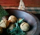 PRiMiTiVe Blackened BeesWax Spiced Holiday Jingle Bells Christmas Bowl Ornies