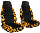 Zebra Seat Covers With A Black Center 2000 To 2016 Ford Focus Airbag Option