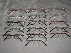 Made with Swarovski Crystal Jeweled Reading Glasses Fashion Bling +250 NEW