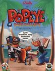 Popeye Pinball Machine Original Flyers Mint Condition Fifty Pieces