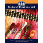 DMC COLORCRD Needlework Threads 12 Page Printed Color Card