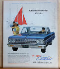 1963 magazine ad for Oldsmobile Olds F 85 Cutlass Championship Style