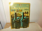 2 WAY FAMILY RADIO WALKIE TALKIE SET-NEVER USED-14 CHANNELS-2 MILE RANGE-UNWIRED
