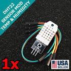 DHT22 Digital Temperature Humidity Sensor AM2302 Module + PCB Cable Arduino Q32