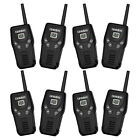 4 Pack Uniden GMR2035-2 20-Mile Range GMRS/FRS Walkie Talkie Two-Way Radios