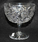 Antique Cut Glass Grapefruit Compote Hawkes Signed American Brilliant
