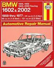 BMW 1500, 1502, 1600, 2000 Touring, 1602 and 2002 Repair and Service Manual 1959