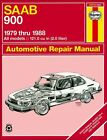 Saab 900 Sedan, Hatchback, 2.0L, 2.0L Turbo Repair Manual 1979-1988