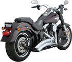 VANCE AND HINES 26051 Super Radius Exhaust System Chrome