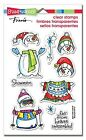 Stampendous Christmas Clear Stamps Set SSC1249 Winter Stack 720