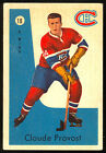 1959 60 PARKHURST HOCKEY #18 CLAUDE PROVOST EX+ MONTREAL CANADIENS CARD
