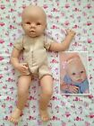 NEW Cradle Kit Krista Baby Doll Kit By Linda Murray W Body