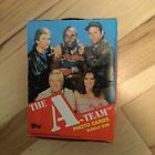 A-team tv show cards rare 36 packs box 1980s