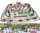 500 pcs Military Playset Plastic Toy Soldiers Army Men 4cm Figures