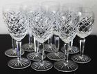 Waterford Crystal Comeragh Cut Claret Wine Glass 6 1 2 Priced Individually
