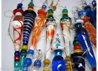 Lot 25 Solid Glass Icicles Christmas Ornament Venetian murano window Decoration