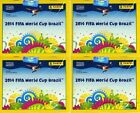 (24) 2014 Panini World Cup Brazil Factory Sealed Boxes-1200 Packs 8400 Sticker!