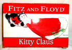 FITZ & FLOYD KITTY CLAUS PORCELAIN  TIDBIT DISH NIB