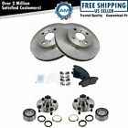 Wheel Bearing  Ceramic Brake Pad  Rotor Front Kit for Toyota Corolla Geo Prizm