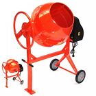 55447 Drum Portable Electric Concrete Cement Mixer 140L Mortar Plaster 140 liter