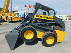 2012 NEW HOLLAND L 220 FAST 2 SPEED SKID STEER WHEEL LOADER GREAT HOURS