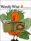 Series A Grades 2 to 4 Wordly Wise Series