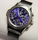 Hublot MDM DEPOSE 1810.1 SS Chronograph Automatic Blue Dial Watch
