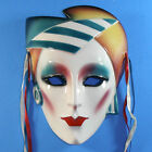 Clay Art Deco style mask SF CA USA About Face ca 1980