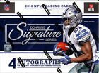 2016 Panini Donruss Signature Series Football Hobby Box 4 Autos Per Box