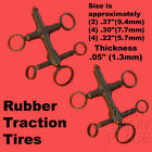 STEAM TRACTION TIRES 10 RIVAROSSI ATLAS N SCALE