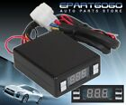 Red Led Digital Display Black Box For Turbo/Non-Turbo Timer Control Universal
