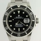 Rolex Oyster Perpetual Date Submariner Watch - Stainless Steel Men's 16610