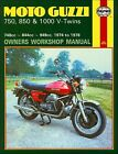 Moto Guzzi 750-S, 750-S3, 850-T, 850 T3, V1000, LeMans Repair Manual 1974-1978