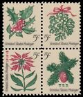 1254a 57a 1257a 1257c Christmas 1964 Experimental Tagged Block of 4 MNH Buy Now