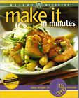 Weight Watchers Cookbook MAKE IT IN MINUTES Winning POINTS Recipes