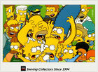 Tempo Australia-Simpsons Downunder Card Collection Oversize Box Card B3- RARE