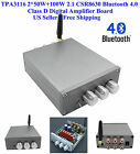 US TPA3116 2*50W+100W 2.1 CSR8630 Bluetooth 4.0 Class D Digital Amplifier Board