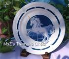 Tienshan Blue Fantasy Unicorn Stoneware DINNER PLATE