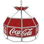 Officially Licensed Coca Cola Stained Glass Tiffany Light Vintage 16