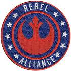 Star Wars Official Rebel Alliance Logo Lucasfilm Embroidered Iron On Patch