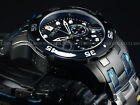 Mens Invicta Pro Diver Scuba Military Combat BLACK Chrono Swiss Parts Watch New