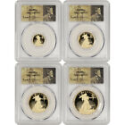2011-W American Gold Eagle Proof 4-pc Year Set - PCGS PR70 DCAM St Gaudens Label
